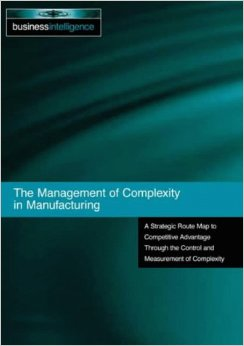 "CM Literacy Meeting 2014: Gerald Frizelle, ""The Management of Complexity in Manufacturing"""