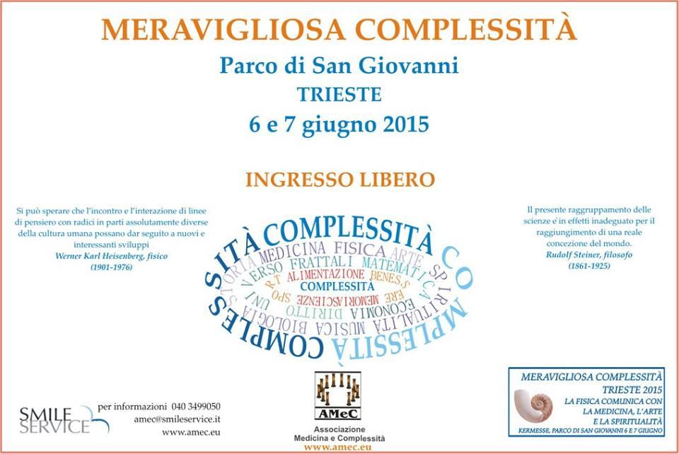 Il Festival della Complessità a Trieste