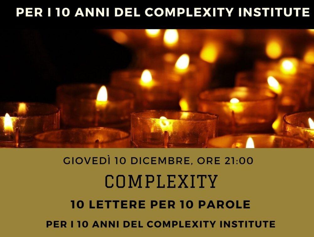 Complexity - 10 parole